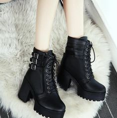 Ladies Short Boots Leather Boots Snow Boots Burgundy Ankle Boots Suede Pointed Toe Booties Booties On Sale Platform High Heels, High Heel Boots, Heeled Boots, Platform Boots Outfit, Platform Ankle Boots, Boots For Short Women, Short Boots, Boots Women, High Heels Plateau