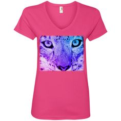 Lovingly added this new Snow Leopard Spir... for you.  What do you think? http://catrescue.myshopify.com/products/snow-leopard-spirit-guide-ladies-v-neck-tee?utm_campaign=social_autopilot&utm_source=pin&utm_medium=pin