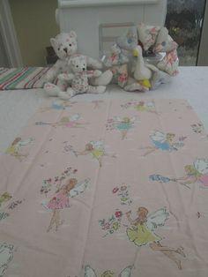 BN Lovely Cath Kidston Haberdashery Cotton Remnant In Garden Fairy