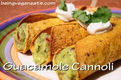 """Holy moley that's a tasty guacamole cannoli!"""