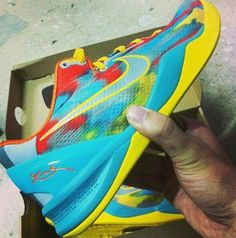 Nike Kobe Superhero 8 Sneaker (Images)