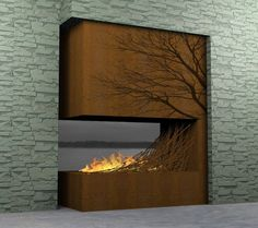 Kidsumers — Strange and unique fireplaces