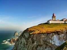 Cabo da Roca in Sintra, Lisboa Cabo, Lisbon Map, Places To See, Places Ive Been, Continental Europe, Adventure Is Out There, Lands End, Portuguese, Monument Valley