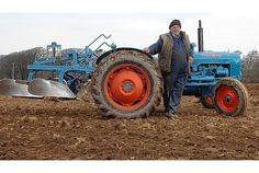 Enthusiasts of times gone by gathered in force at the weekend for a double celebration of rural life as dozens of tractors clubbed together for an annual working rally of vintage machinery.