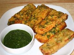 Bread Pakoras - Manjula's Kitchen - Indian Vegetarian Recipes
