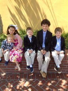 Porter, Rynne, Brent, Luke & Mitchell. Easter 2012.
