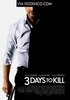 Kevin Costner and Amber Heard star in the action thriller 3 Days To Kill and EnStars exclusively obtained the suspenseful trailer. Kevin Costner, Hd Movies Online, 2015 Movies, Latest Movies, Film D, War Film, Spider Man 2, Hailee Steinfeld, Amber Heard