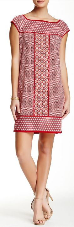 print jersey shift dress - Nordstrom Rack sponsored
