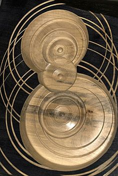 Handmade wood art piece. Found at Textures Craftworks Hamilton ON