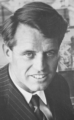 """United States Attorney General Mr~~Robert Francis Kennedy (November 20, 1925 – June 6, 1968), commonly known as """"Bobby"""" or by his initials RFK, was an American politician from Massachusetts. He served as a Senator for New York from 1965 until his assassination in 1968. He was previously the 64th U.S. Attorney General from 1961 to 1964, serving under his older brother, President John F. Kennedy ♡❀♡❀♡❀♡✿♡❁♡✾♡✽♡   http://en.wikipedia.org/wiki/Robert_F._Kennedy"""