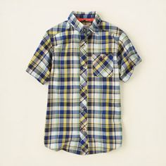 boy - plaid shirt | Children's Clothing | Kids Clothes | The Children's Place