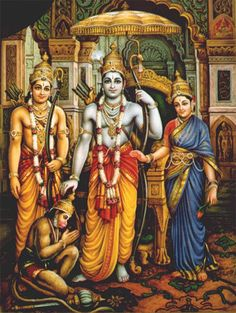 Lord Rama is the seventh avatar of Lord Vishnu and one of the main deities in Hinduism, Here is a collection of Lord Rama images with Sita & HD wallpapers. Hanuman Photos, Hanuman Images, Krishna Images, Ravivarma Paintings, Classic Paintings, Indian Paintings, Beautiful Paintings, Shri Ram Photo, Lord Sri Rama