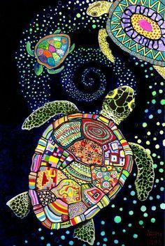 Noche de tortugas