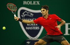 Roger Federer Photos - Shanghai Rolex Masters 1000: Day 4 - Zimbio