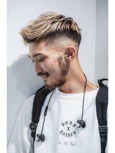 Blonde Asian Hair, Blonde Guys, Hair And Beard Styles, Hair Styles, Asian Men Hairstyle, Men's Grooming, Haircuts For Men, Hair Designs, My Hair