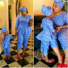 Ankara Style For Mother and Child  http://www.dezangozone.com/2015/05/ankara-style-for-mother-and-child.html