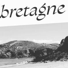 Il y a quelque chose en nous de Bretagne ⛵️ #typographie #typedesign #bretagne