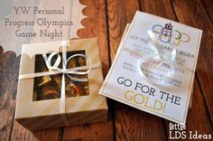 Are you ready for a Personal Progress Game Night?   Back in February I shared a cute little Olympic Torch treat that I was using for an upcoming YW Personal Progress Olympic activity. As part of our Olympics we had a fun game night with the girls for a Wednesday Night mutual activity. The Sunday before our game night I handed out some invitations for each of the girls. I also game them a treat…a box filled with Gold candy,...  Read more »