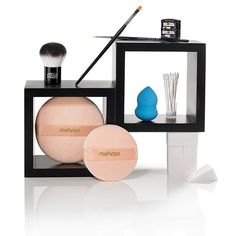 Mehron Beauty Accessories at www.mehron.com #mehronmakeup #makeupkit #makeuptools #beautyessentials #FACESmoothie #FACEkabuki #powderpuff