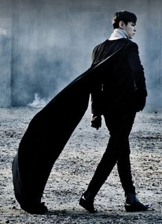 "K-pop sensation (and one of the most fabulous people on the planet) T.O.P., from the upcoming Big Bang video ""Monster."""