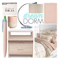 """""""Design Your Dream Dorm with Lands' End: Contest Entry"""" by olgutieuse ❤ liked on Polyvore"""