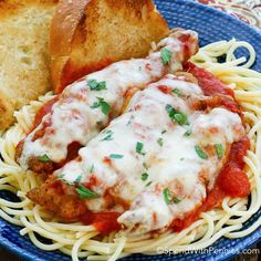 This Weeknight Chicken Parmesan is a delicious weeknight meal ready in under 30 minutes! Tender chicken topped with tomato sauce, herbs & cheese, this is a family favorite! Chicken Parmesan Casserole, Parmesan Pasta, Chicken Parmesan Recipes, Chicken Parmesan Recipe With Frozen Chicken Patties, Chicken Patty Recipes, Chicken Meals, Chicken Pasta, Turkey Recipes, Frozen Chicken Recipes