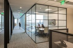 Acquilano has completed the design for the law offices of Husch Blackwell located in Denver, Colorado. When relocating from non-contiguous floors across Wood Slat Ceiling, Wood Slats, Denver Neighborhoods, Black And White Office, Bali, Dropped Ceiling, Glass Partition, Rectangle Table, Offices