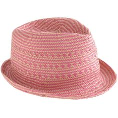 J.Crew Girls' fedora ($30) ❤ liked on Polyvore featuring accessories