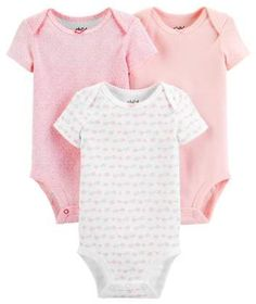 Jumping Beans Bodysuits /& Bib Set Girls Size 9 mos Itty Bitty Little One New