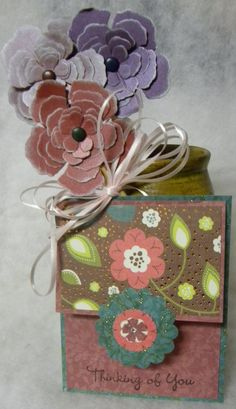 Thinking of You Bouquet - by Laura Taivalkoski Hamilton (Scrapbook.com)