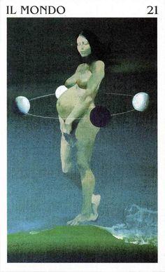 The World - Tarocchi di Ferenc Pintér
