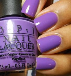"""Name is perfect - OPI Nail Lacquer nail polish in """"Pack Your Booty Shorts"""" Limited Edition"""