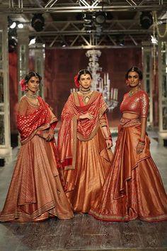Tarun tahiliani bridal & couture collection 2016 at icw
