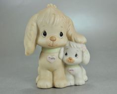 "Adorable Precious Moments Figurine ""Puppy Love"" At Catnutti's Collectibles"