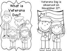 VETERAN'S DAY MATH AND LITERACY ACTIVITIES by Deanna Jump   PreK, Kindergarten, 1st, 2nd