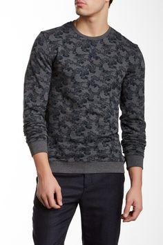 d55f932abf3f Long Sleeve Printed Sweatshirt by Ted Baker London on  HauteLook Printed  Sweatshirts