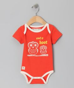 The day is bound to be fun when this comfy, colorful bodysuit comes out of the drawer! Made in smooth knit cotton with a whimsical woodland graphic, it's ready to outfit adorable animal lovers in softness and style.100% cottonMachine wash; tumble dryImported