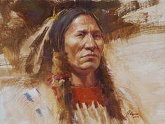 """""""Stately Cheyenne,"""" Cheyenne - James Ayers"""
