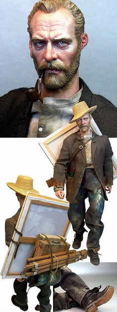 Serang World - Vincent Van Gogh figure
