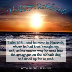 Happy Sabbath!!