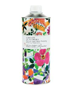 floral packaging - Library of Flowers Arboretum Bubble Bath with Coco Butter - Neiman Marcus Beauty Packaging, Pretty Packaging, Brand Packaging, Packaging Design, Branding Design, Skincare Packaging, Coffee Packaging, Bottle Packaging, Cosmetic Packaging