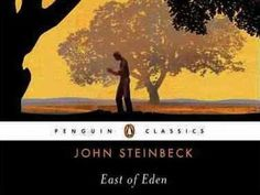 """Two families — the Trasks and the Hamiltons — live in California's Salinas Valley. The novel follows each generation's struggle with morality, right and wrong, and the bleak issues caused by sibling rivalry.   Steinbeck considers """"East of Eden"""" his greatest novel. """"I think everything else I have written has been, in a sense, practice for this,"""" the author said. (want to re-read)"""