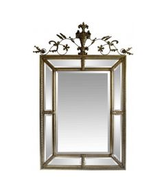 With stunning decorative detail adorning its beautiful silver and gold leaf design, the La Vau mirror makes for an extraordinary addition of classical character to any home. Beveled Mirror, Mirror Mirror, Mirrors, Sofa Shop, Visual Effects, Leaf Design, Discount Designer, Bedroom Furniture, Oversized Mirror