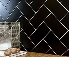 Sleek and stylish black tiles, ideal for giving your walls and floors a refresh. Made from a durable porcelain with a matt finish.