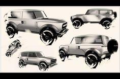 New Bronco, Ford Bronco, Car Design Sketch, Car Sketch, Enjoy Car, Car Drawings, Design Competitions, Automotive Art, Car Ford