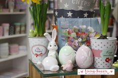 Osterhase, Happy Mug... living-sweets.com/ostern