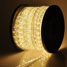Amazon.com : ARKSEN© Flexible 150' LED Crystal Clear PVC Tubing Rope Kit Light, Warm White : Patio, Lawn & Garden
