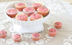 Raspberry, chocolate-chip muffins with a secret ingredient! Who wouldn't love pink muffins--with chocolate?!