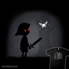 Dark Linkbo #darklink #gaming #ideasconpatatas #limbo #thelegendofzelda #videogame