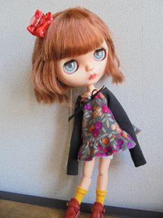 ◆ ブライスちゃん Outfit   ミニワンピース&サルエルパンツ  6点セット ◆